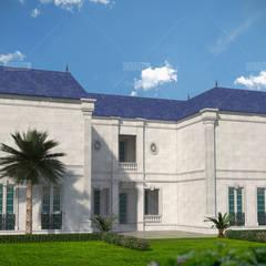 مجمع فلل درعا:  منازل تنفيذ tatari company, كلاسيكي حجر