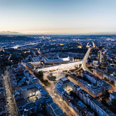 NEW KCP / NEW PCC : Prague Congress Centre extension توسط OCA architects مدرن