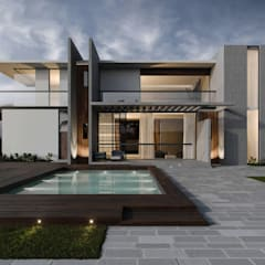 Modern houses by Edificaciones Arcon Modern