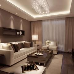 Modern style media rooms by Edificaciones Arcon Modern