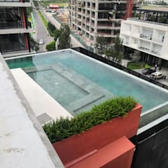by Albercas Pool Point México Modern پتھر