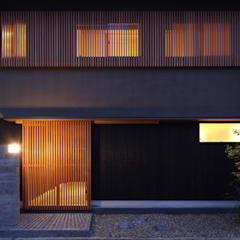 Casas de estilo  por Studio tanpopo-gumi 一級建築士事務所, Asiático