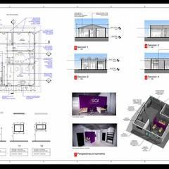 توسط EHG arquitectura y construcción مدرن