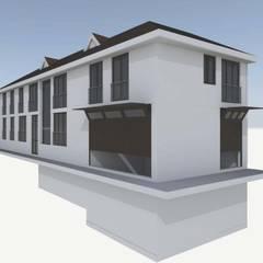 Multi-Family house by ag arquitectura sa, Classic Bricks