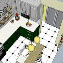 Built-in kitchens by InterDesign , Eclectic