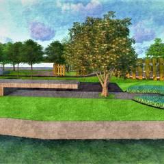 Garden Pond by Kiasma Landscapes, Modern