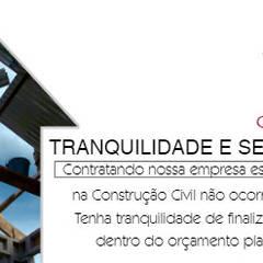 CR Construtora의  사무실, 인더스트리얼