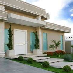 CR Construtora의  테라스 주택, 클래식