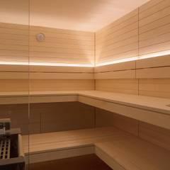 Inspiration: Design sauna by corso sauna manufaktur gmbh Modern لکڑی Wood effect