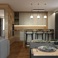 mieszkanie na Targówku - projekt od GACKOWSKA DESIGN Nowoczesny
