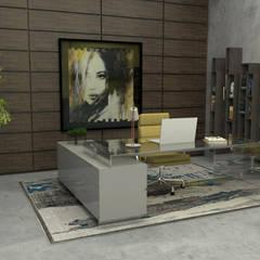 Abra as portas de sua casa ao estilo moderno! Escritórios modernos por Casactiva Interiores Moderno