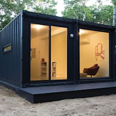 Prefabricated Home by Arkontainers, Minimalist