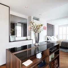 Luxe hotel slaapkamer voor thuis Moderne slaapkamers van De Suite Modern