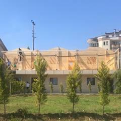 Derya Malkoç İç Mimarlık의  목조 주택, 컨트리