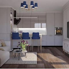Bespoke kitchen inspiration for luxury homes توسط Luxury Chandelier کلاسیک مس/ برنز/ برنج