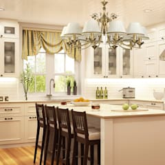 Kitchen units by Luxury Chandelier, Classic Copper/Bronze/Brass