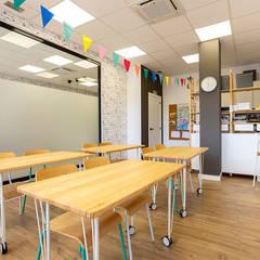 Schools by UVE laboratorio de diseño, Scandinavian