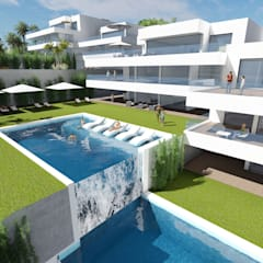 by MGR Arquitectura Mediterranean