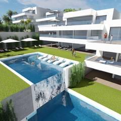 MGR Arquitectura의  다가구 주택, 지중해