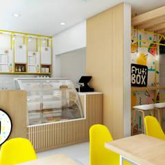NF Diseño de Interiores 의  레스토랑, 북유럽