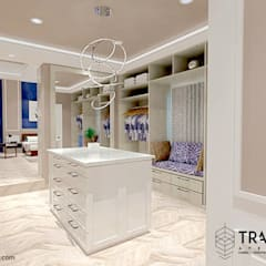 Classic style dressing rooms by TRASSO ATELIER Classic