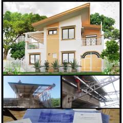 Casas multifamiliares de estilo  por BFG Architectural Services, Asiático Concreto