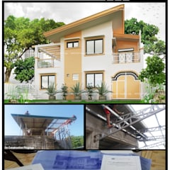 BFG Architectural Services의  다가구 주택, 한옥 콘크리트