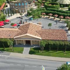 Mediterranean style event venues by Rimini Baustoffe GmbH Mediterranean Ceramic