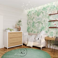 Teen bedroom by IvE-Interior, Mediterranean