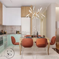 Kitchen units by IvE-Interior, Mediterranean