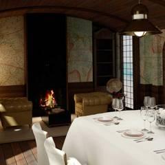 Locales gastronómicos de estilo  por Tono Lledó Estudio de Interiorismo en Alicante , Clásico Madera Acabado en madera