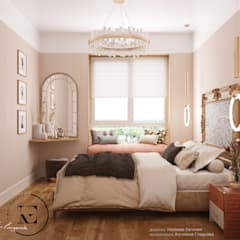 Bedroom by IvE-Interior, Mediterranean
