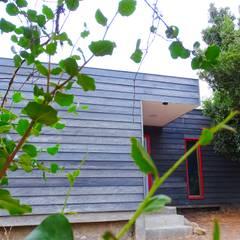 Montgreen Ecomodular의  조립식 주택, 미니멀