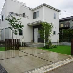 by 庭良/高橋良仁庭苑設計室 Modern