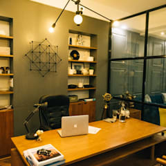 مكتب عمل أو دراسة تنفيذ THE UNUSUAL DESIGN , حداثي