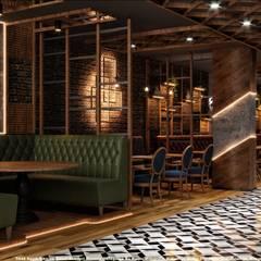 Bares y Clubs de estilo  por Etit Mimarlık Tasarım & Uygulama, Industrial Plata/Oro