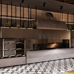 Bars & clubs by Etit Mimarlık Tasarım & Uygulama, Minimalist Ceramic