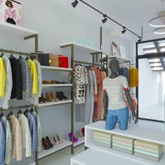 BOUTIQUE: Shoppings y centros comerciales de estilo  por DUALEC 'Diseño y Construccion',Moderno