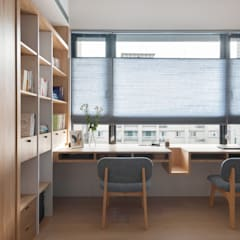 Study/office by 禾光室內裝修設計 ─ Her Guang Design, Asian