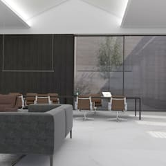 Commercial Spaces by MMEB arquitetos , Minimalist Wood Wood effect