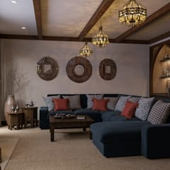 Classic style media room by MARION STUDIO Classic