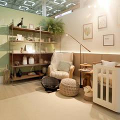 Mostra 4.0 Lar Center - A casa do futuro é para todos.: Locais de eventos  por ARQTAB - Arquitetura e Design,Moderno Derivados de madeira Transparente
