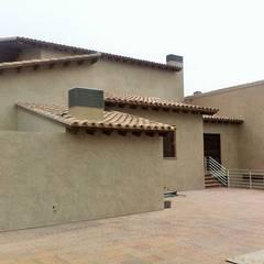 MICROCEMENTO MIKROCEMが手掛けた二世帯住宅, 地中海