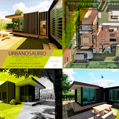 Country house by Urbanosaurio, Minimalist