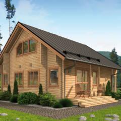 by THULE Blockhaus GmbH - Ihr Fertigbausatz für ein Holzhaus Rustic لکڑی Wood effect