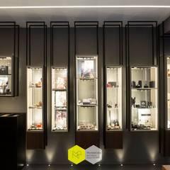 Oficinas y Tiendas de estilo  por Michele Citro, Industrial