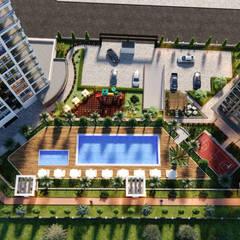 Çalık Konsept Mimarlık – Seyir Park:  tarz Bahçe, Modern