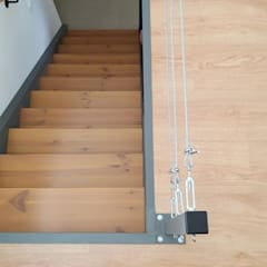 Stairs by Ana Maria Timóteo _ arquitecta, Eclectic