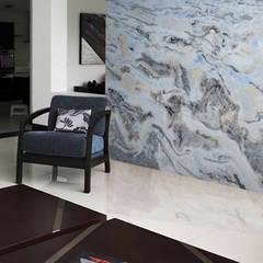 Quarum Paredes y pisos de estilo moderno de Grupo Quarum Moderno Mármol