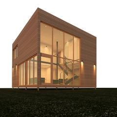 من CLAN arquitectos بحر أبيض متوسط خشب نقي Multicolored